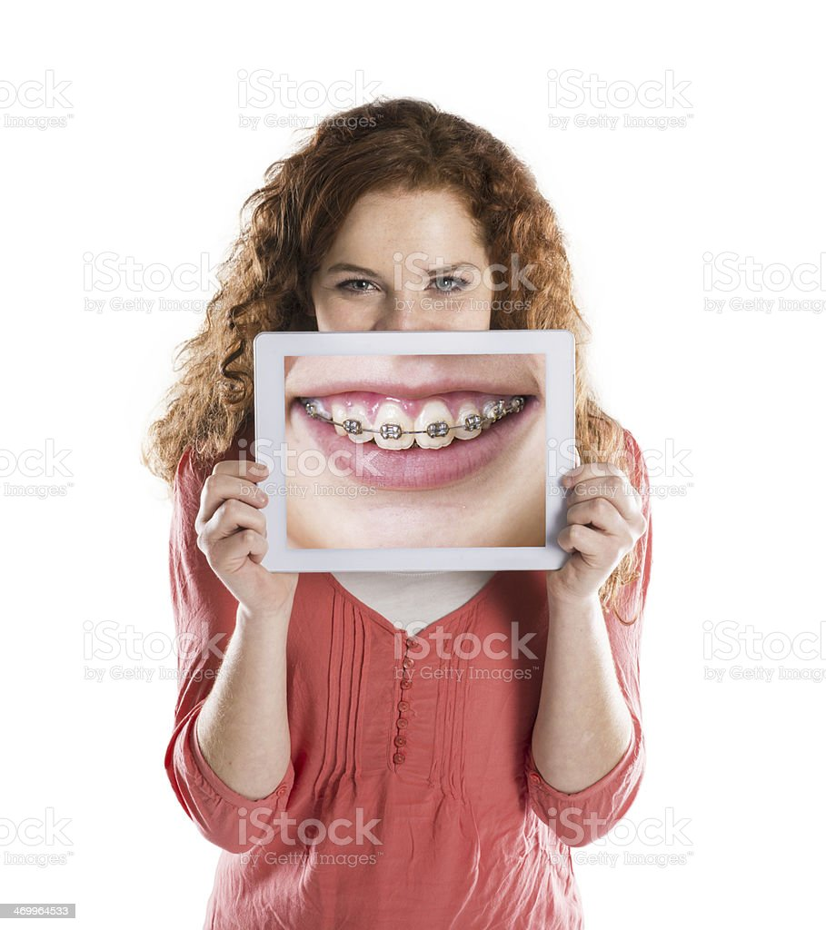 Funny portraits stock photo