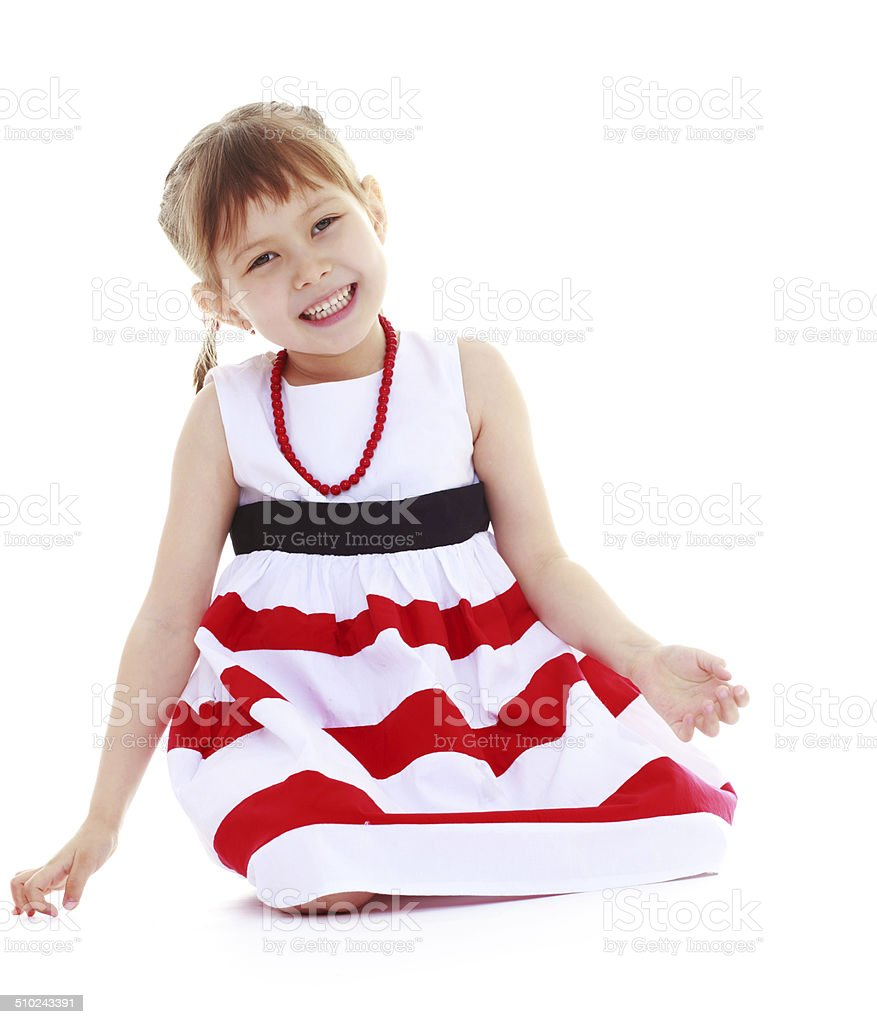 Fille drôle positive photo libre de droits