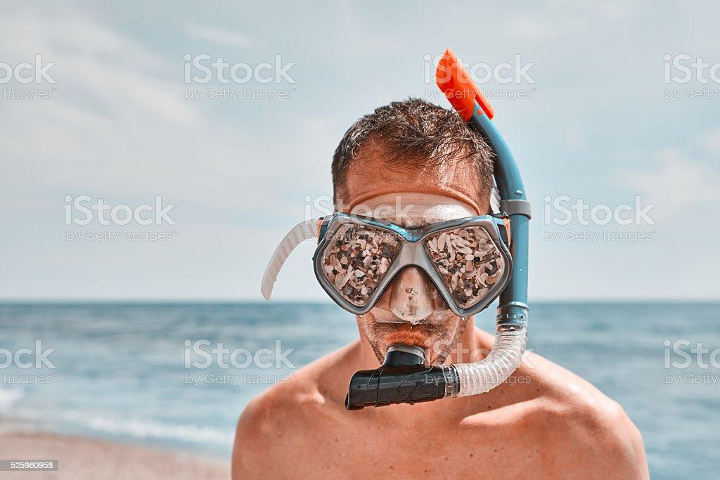 funny scuba time stock photo