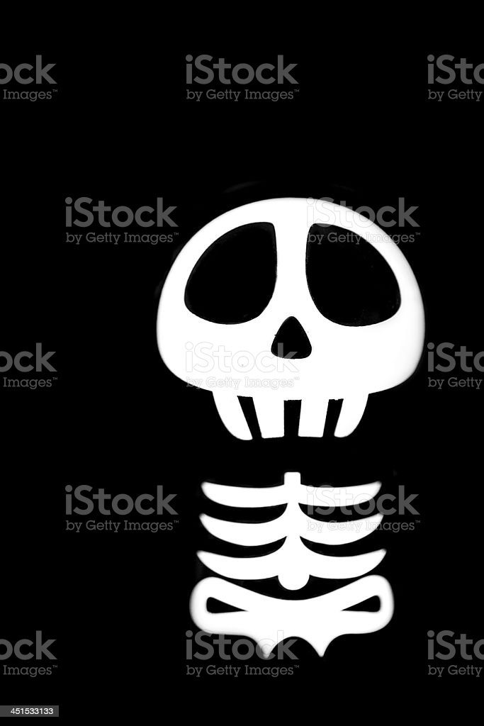 Funny Skeleton royalty-free stock photo