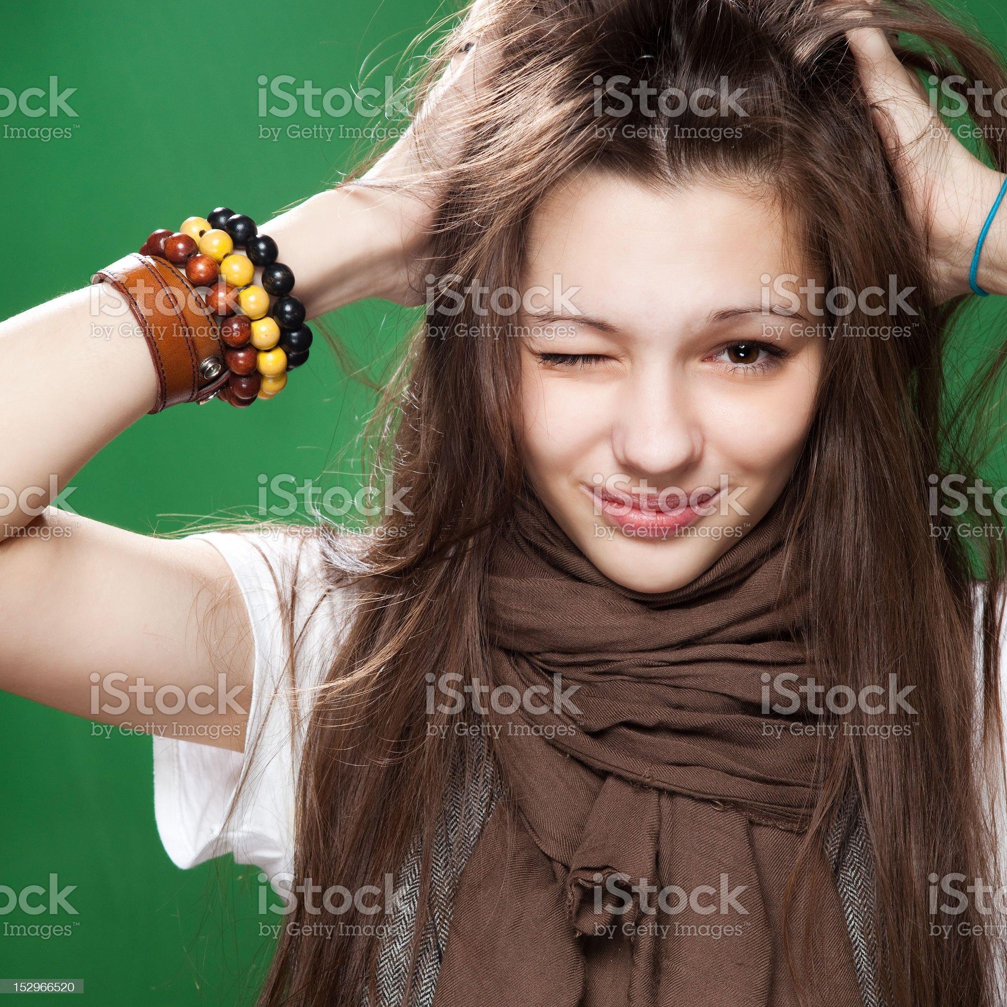 funny smile royalty-free stock photo