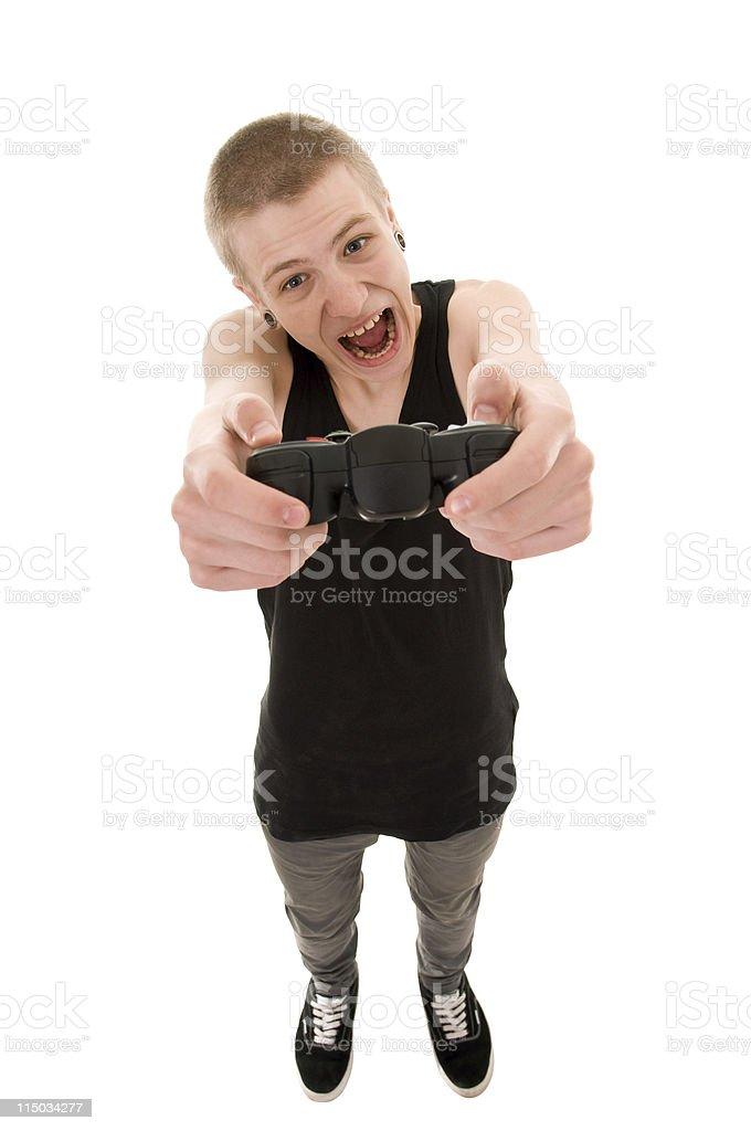 funny teen royalty-free stock photo