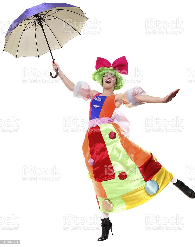 Funny Umbrella royalty-free stock photo