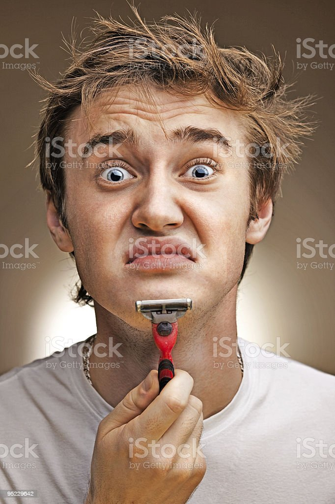 funny young man royalty-free stock photo