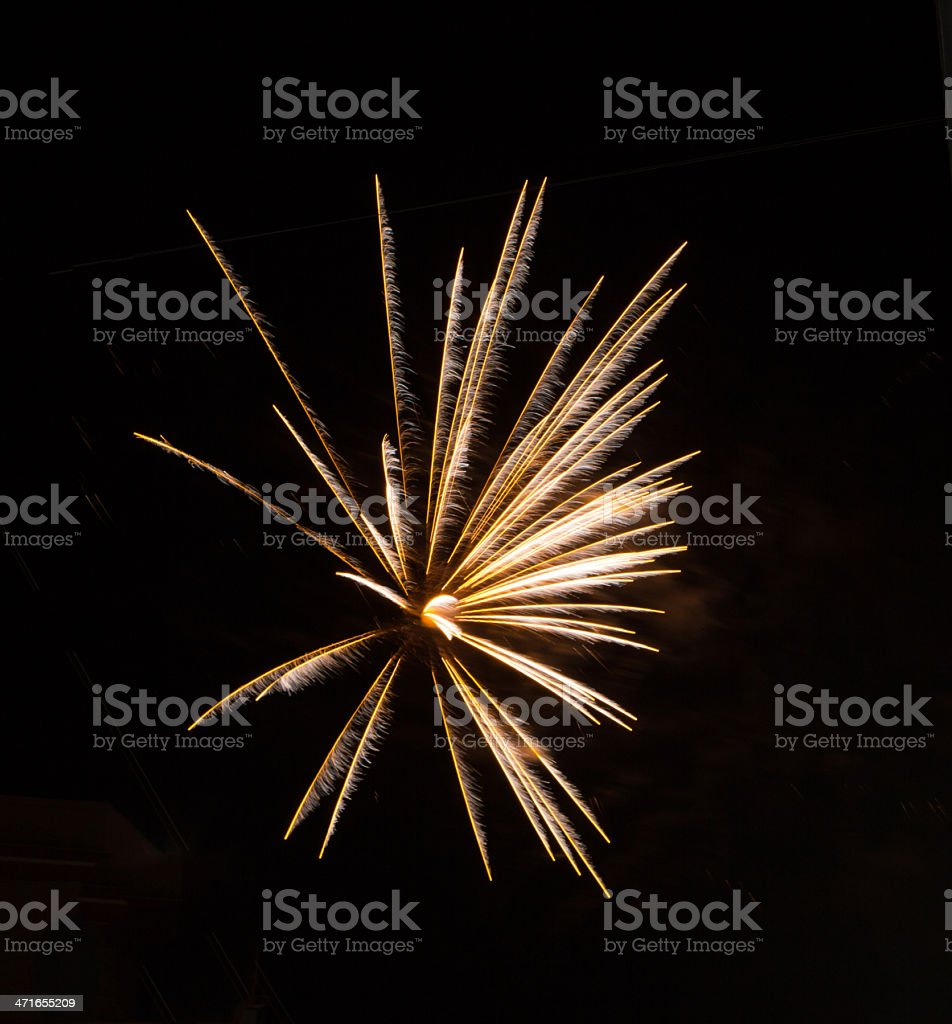 fuochi d'artificio royalty-free stock photo