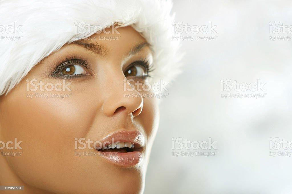 Fur Hat stock photo