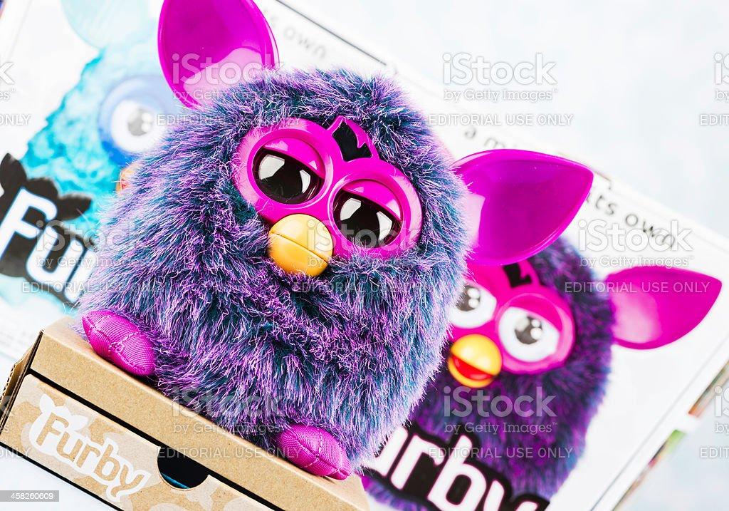 Furby Toy royalty-free stock photo