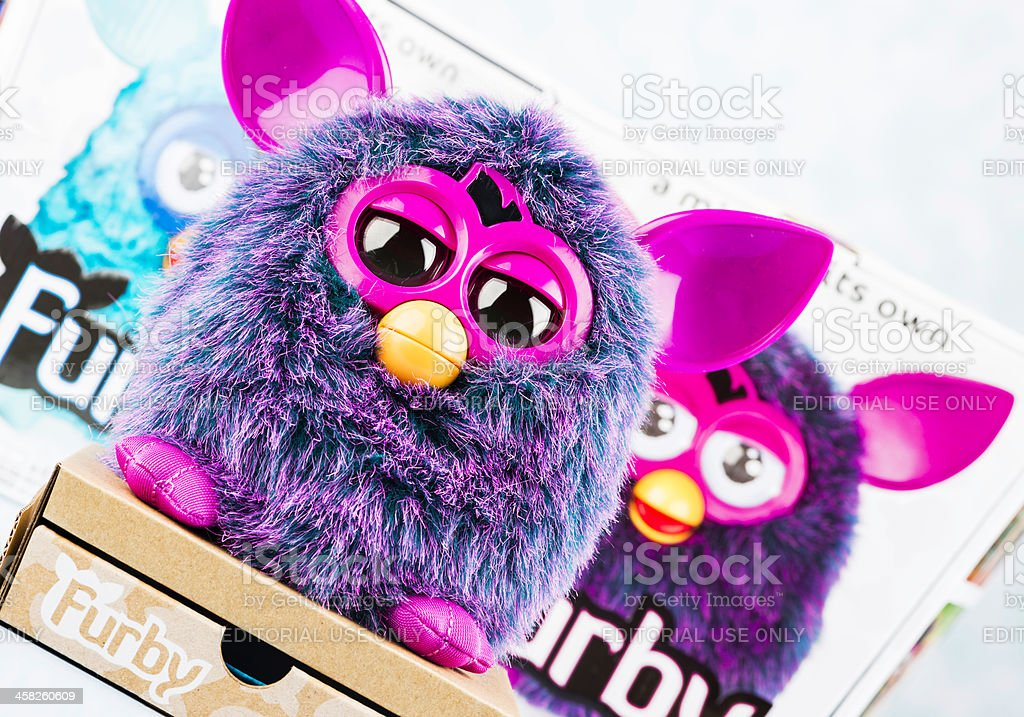 Furby Toy stock photo