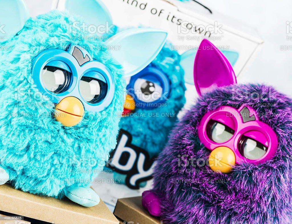 Furby Toys royalty-free stock photo