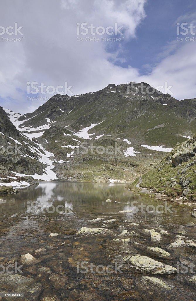 Furglersee, al lake in Austria stock photo