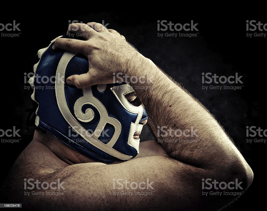 furious concentration royalty-free stock photo