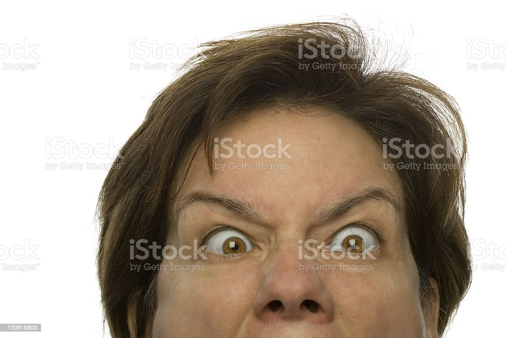 Furious Look stock photo