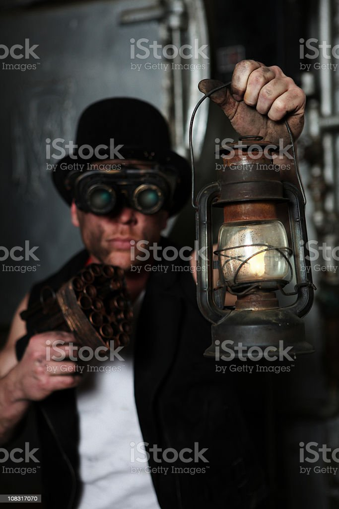 Furistic Male stock photo