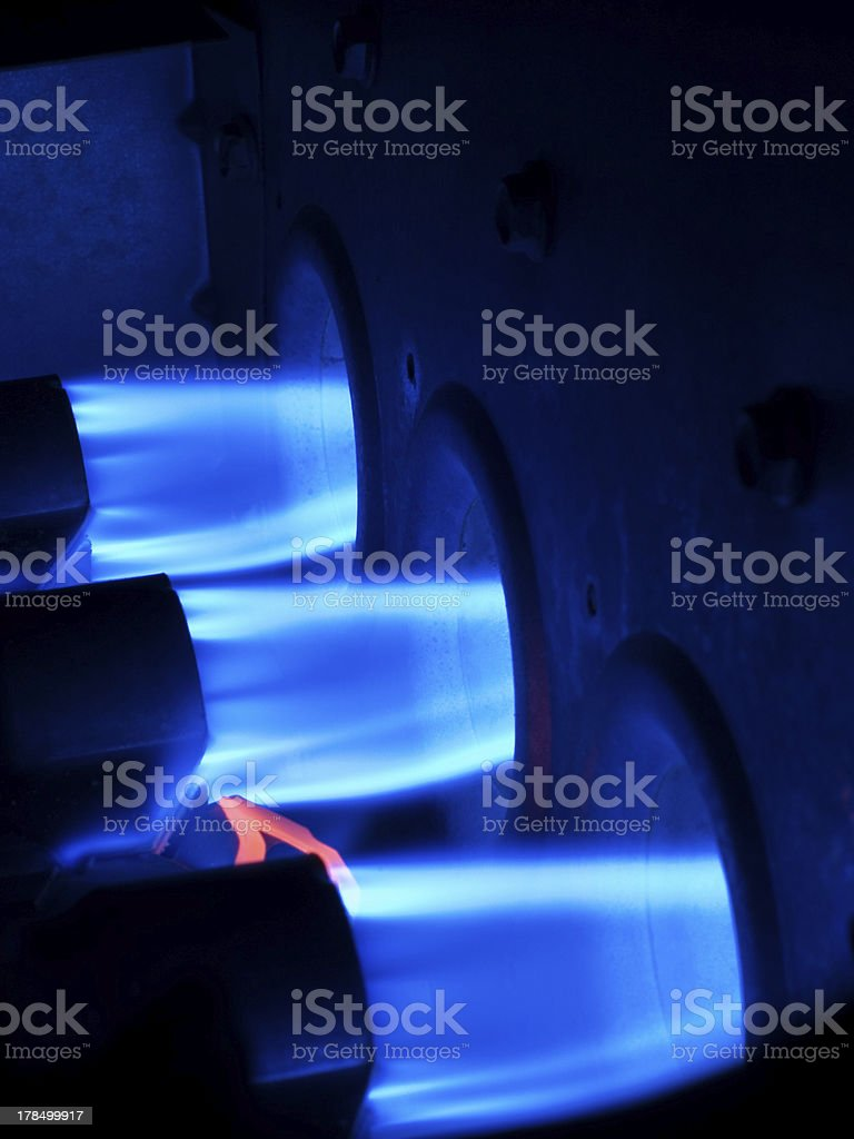Furnace - Heat Blast stock photo