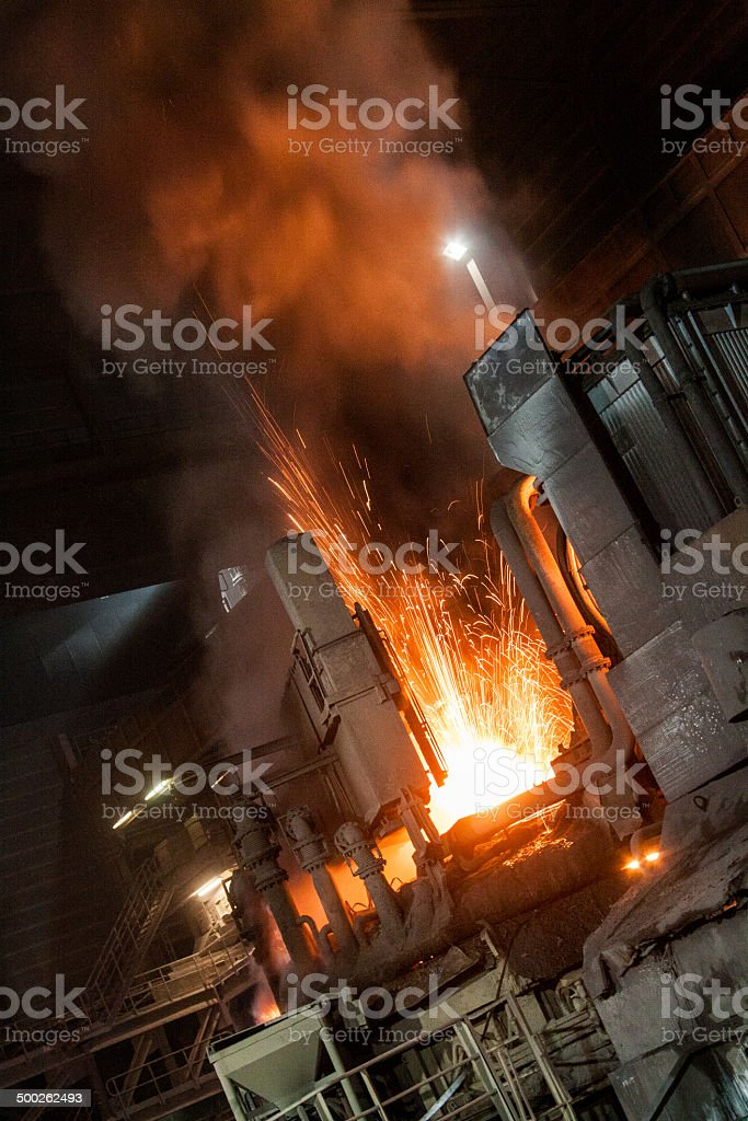 Furnace stock photo