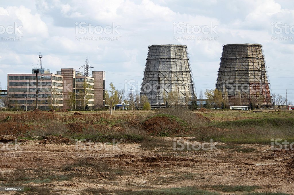 furnaces royalty-free stock photo
