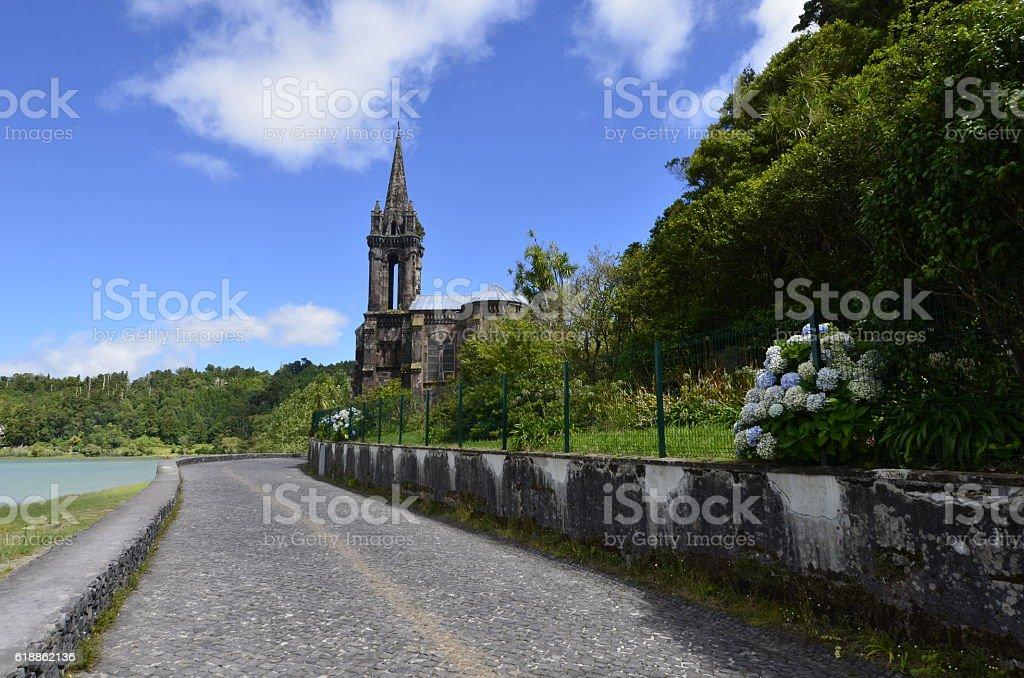 Furnas, Ilha de São Miguel, Açores Portugal stock photo