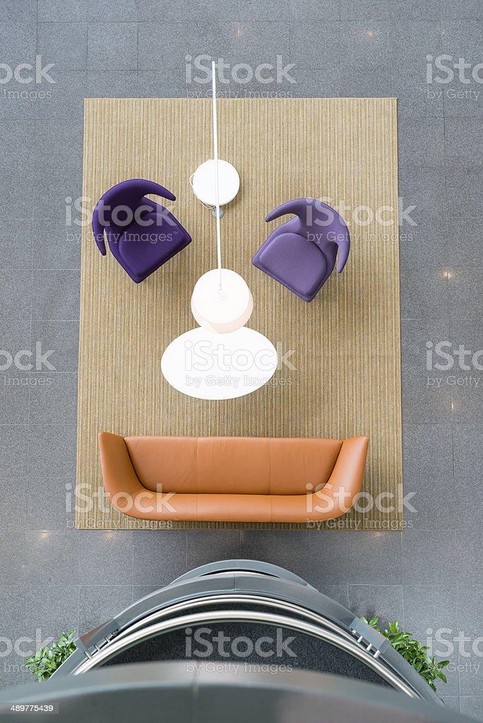 Furniture Face stock photo