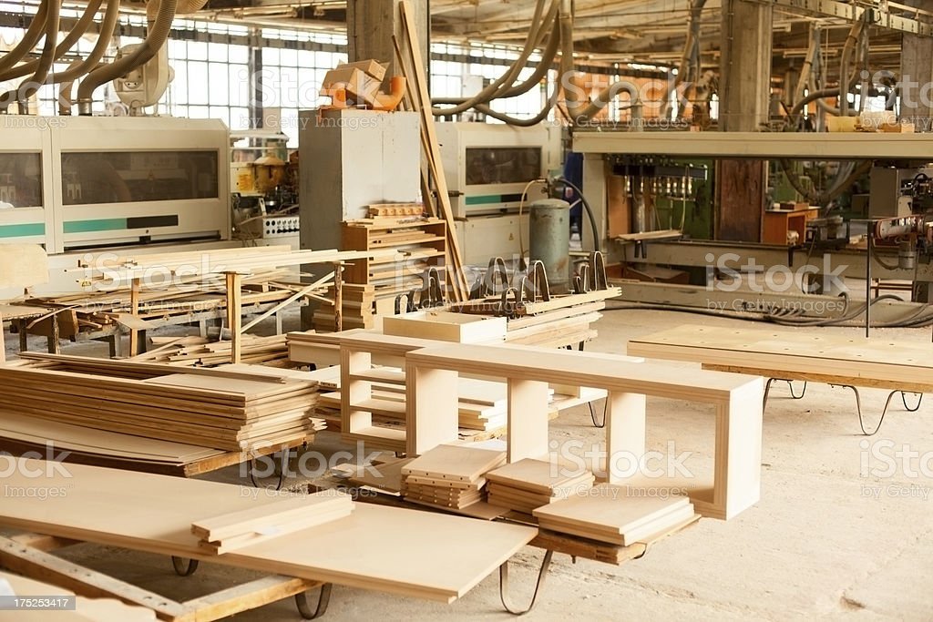Furniture Factory Stock Photo 175253417