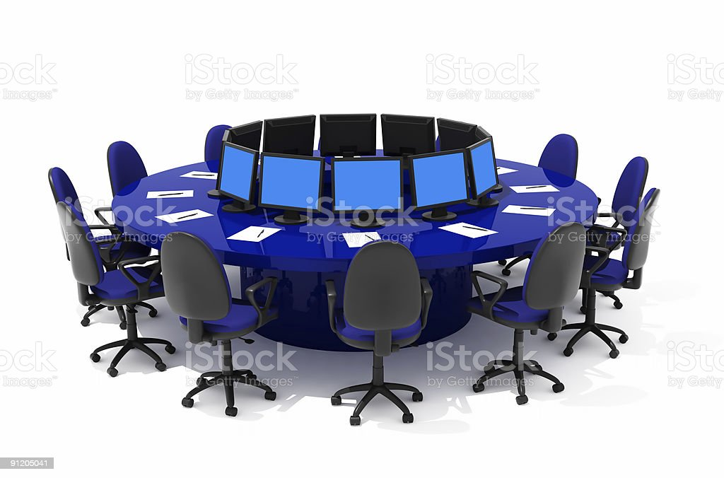 furniture for conference royalty-free stock photo