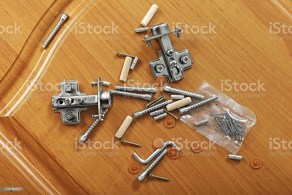 Furniture kit stock photo