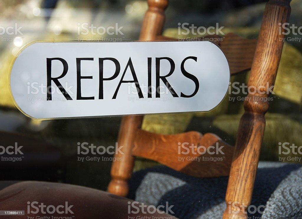 Furniture repairs royalty-free stock photo