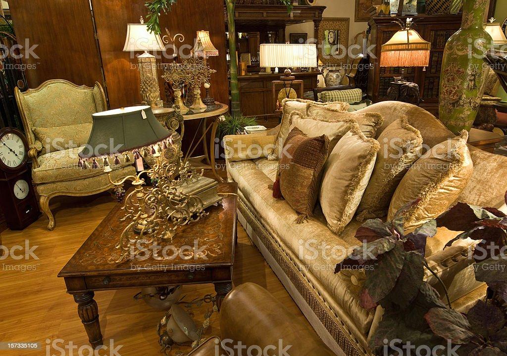 Furniture showroom royalty-free stock photo