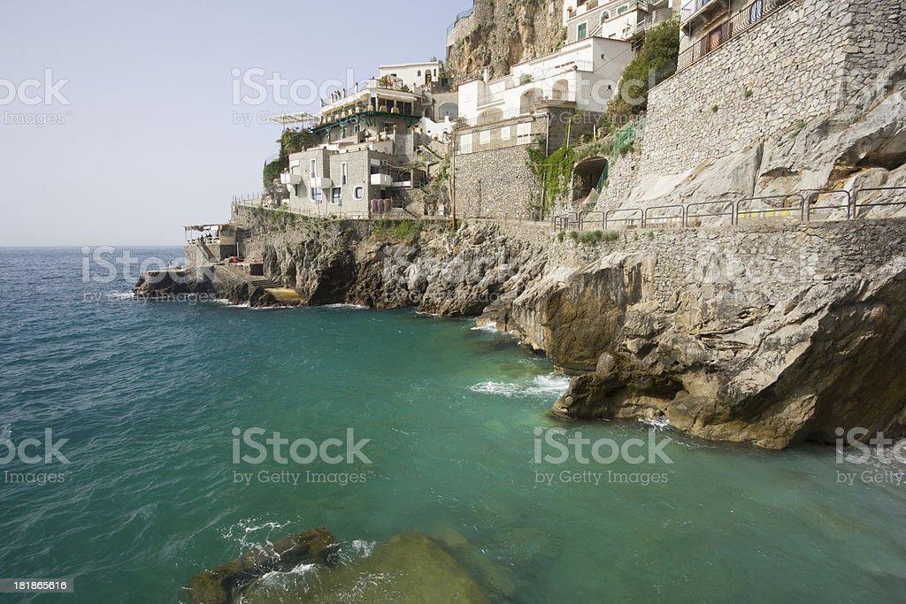 Furore on the Amalfi Coast, Italy royalty-free stock photo