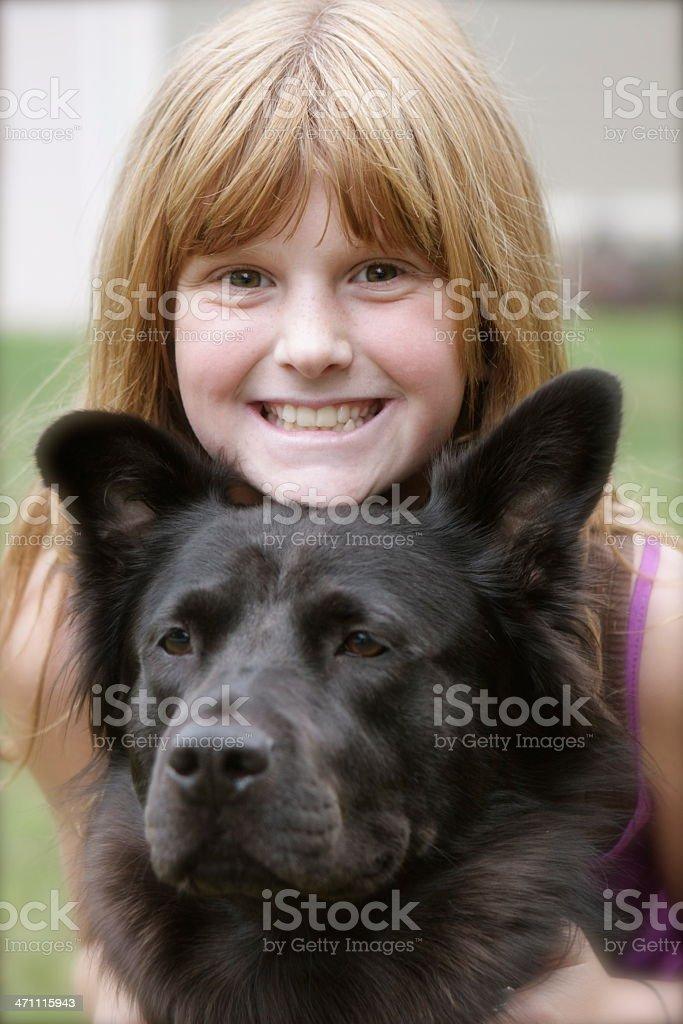 Furry Friend royalty-free stock photo