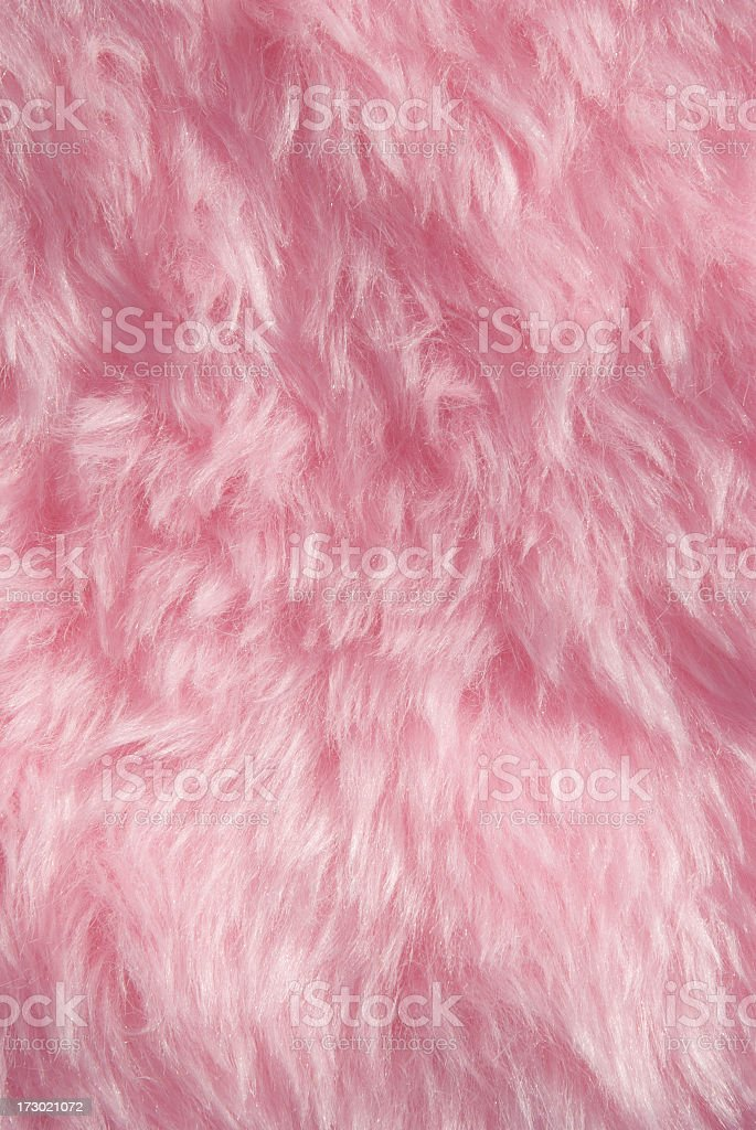 Furry Pink Background stock photo