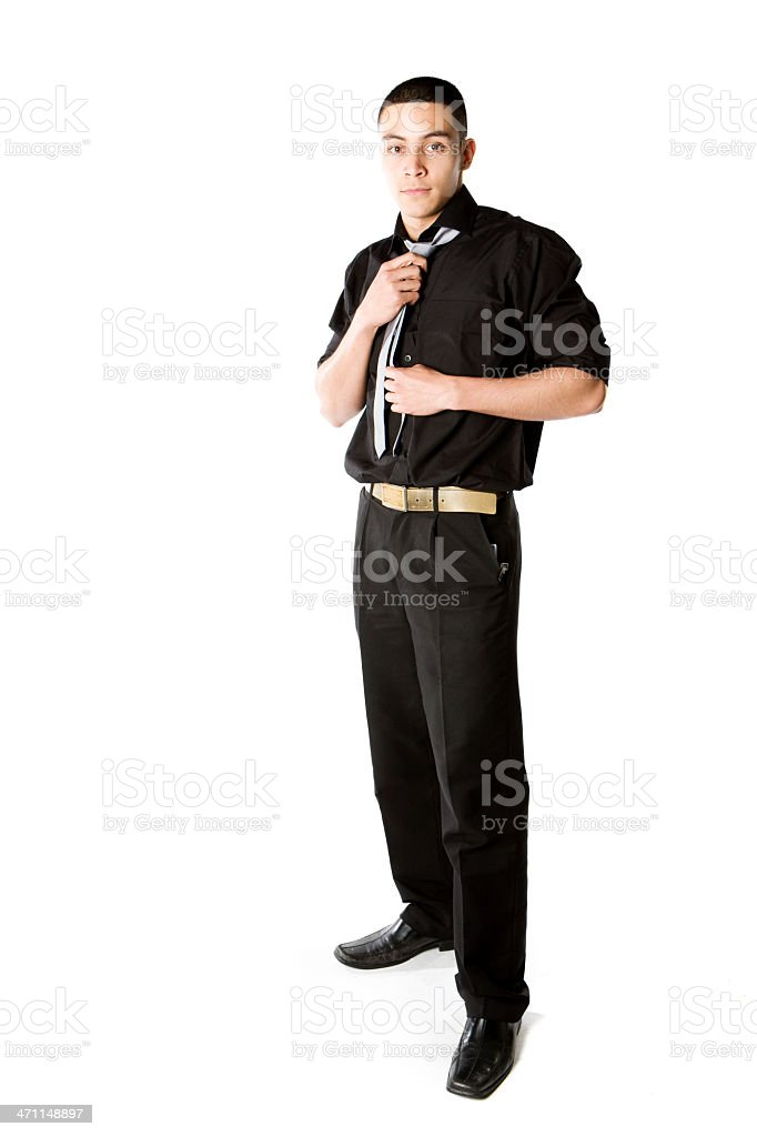 further education: casual confidence royalty-free stock photo