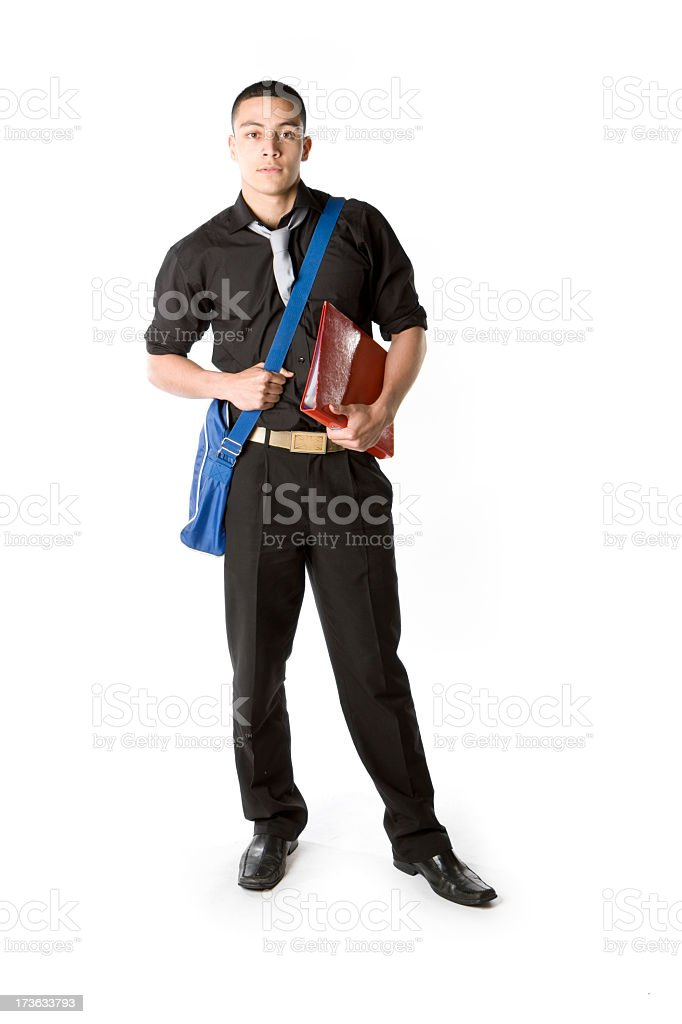 further education: college student royalty-free stock photo