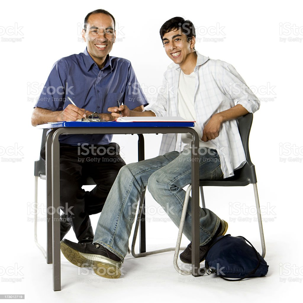 further education: enjoying education royalty-free stock photo