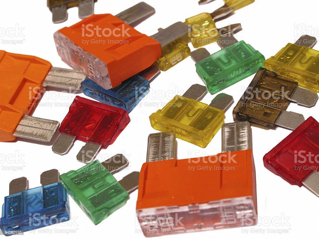 Fuse stock photo