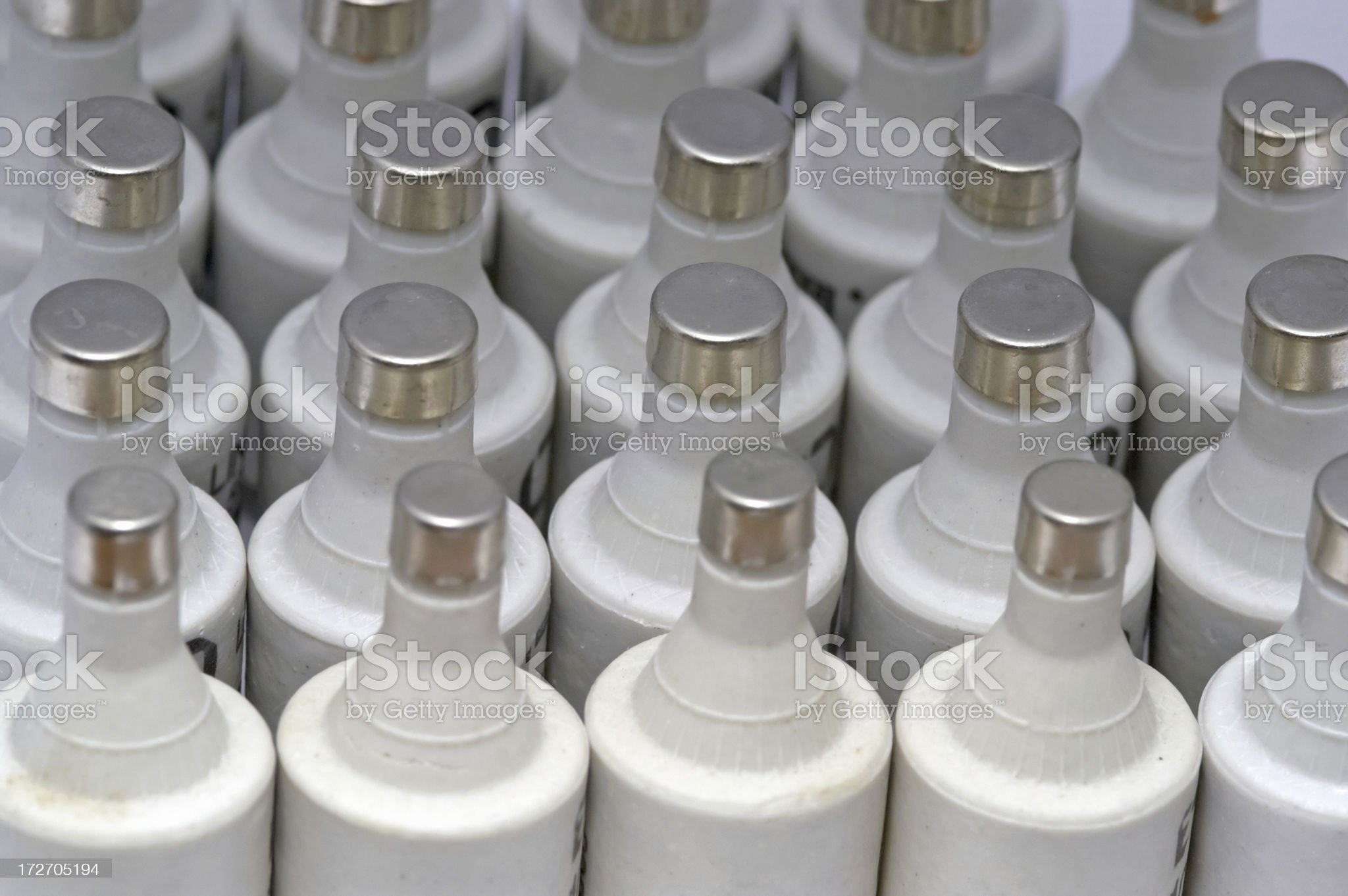 Fuses royalty-free stock photo
