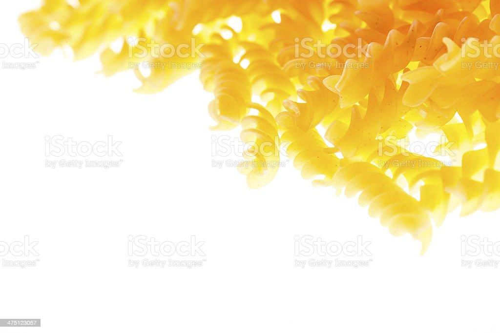 Fusilli royalty-free stock photo