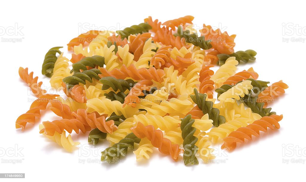 fusilli royalty-free stock photo