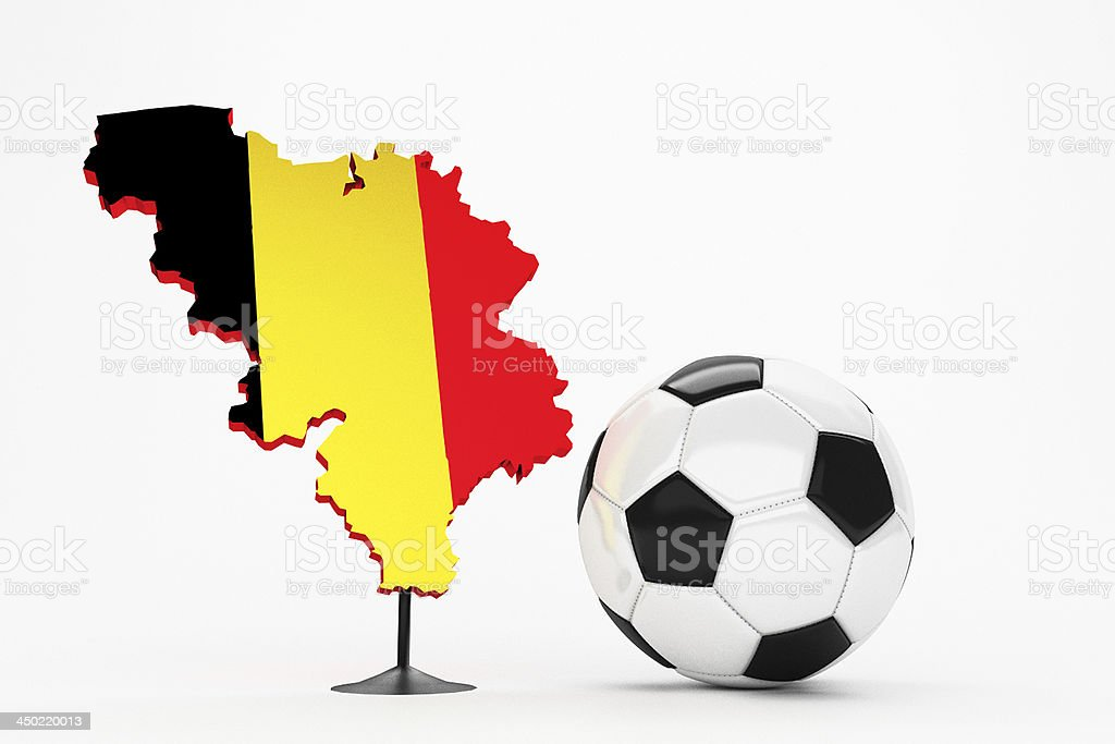 Fussball - Belgien stock photo