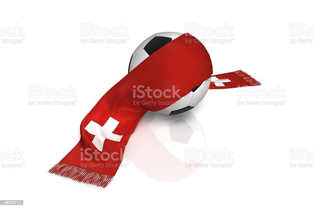Fussball Schweiz royalty-free stock photo