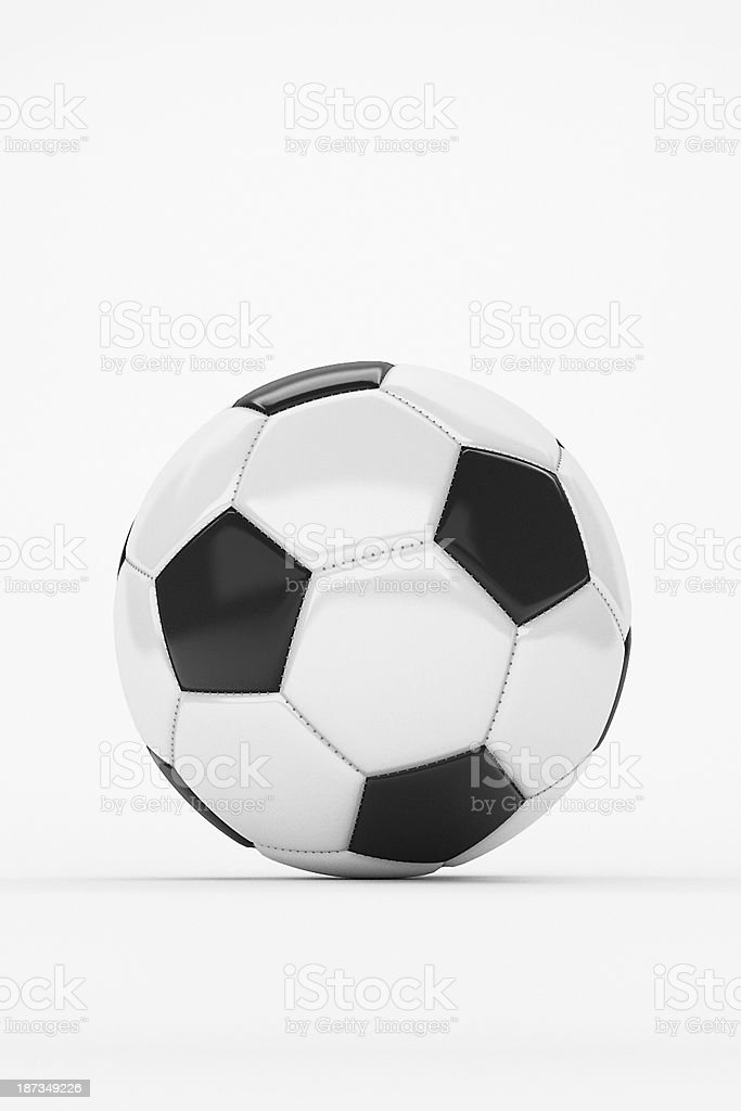 Fussball - Soccer Ball stock photo