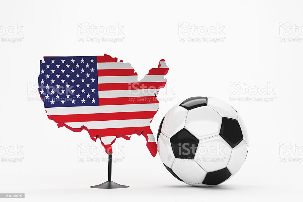 Fussball - USA stock photo