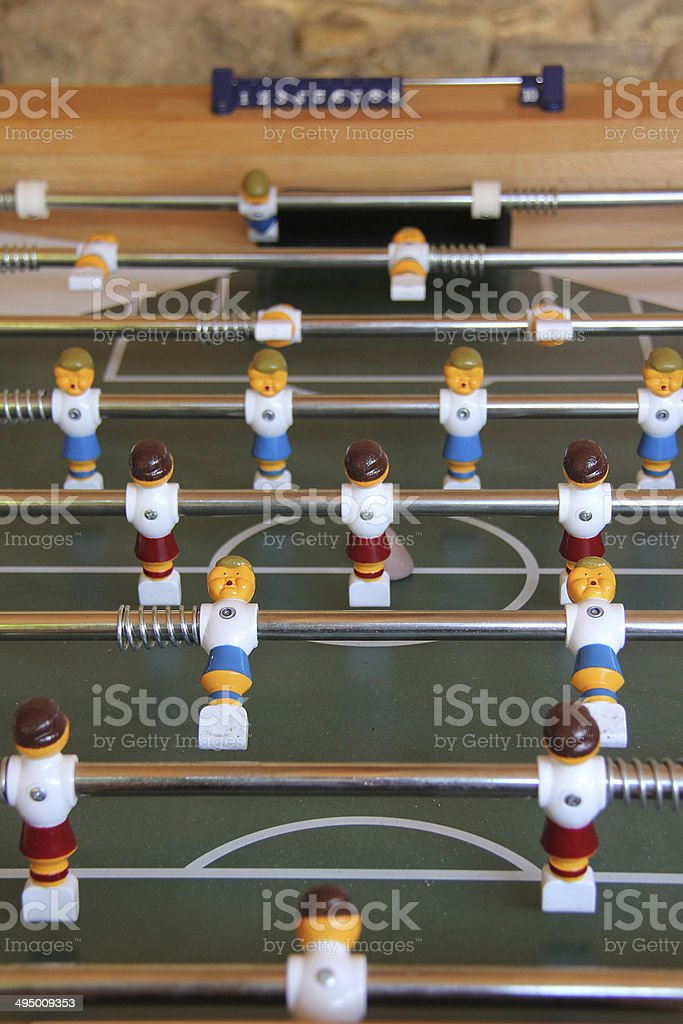 Fussball3 stock photo