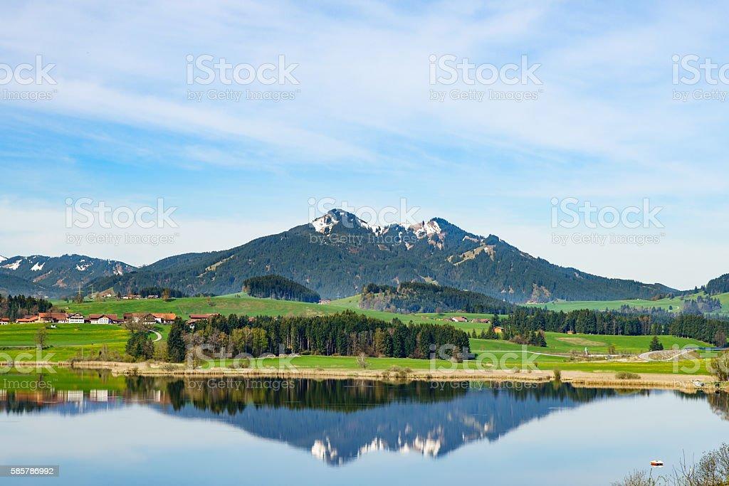 Fussen, Germany stock photo