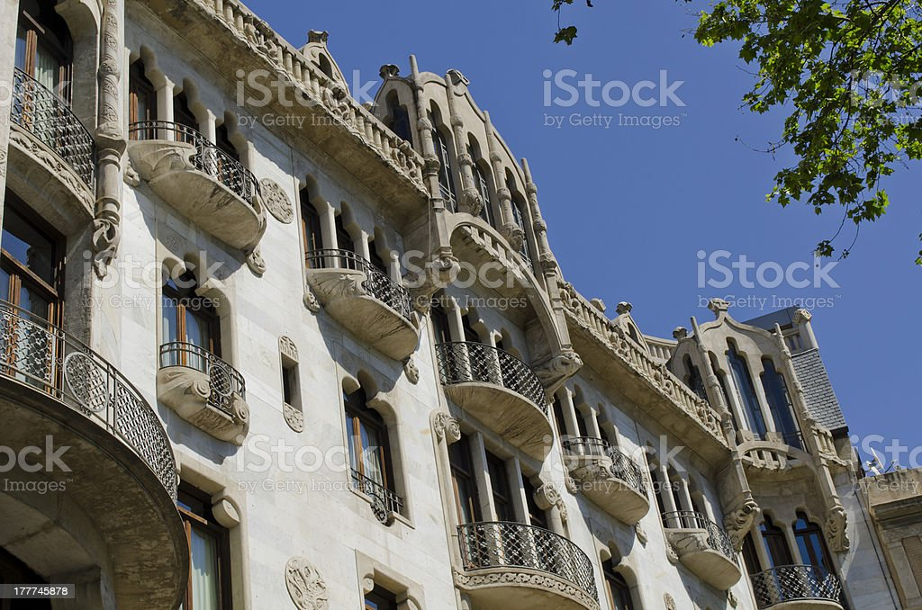 Fuster Building stock photo