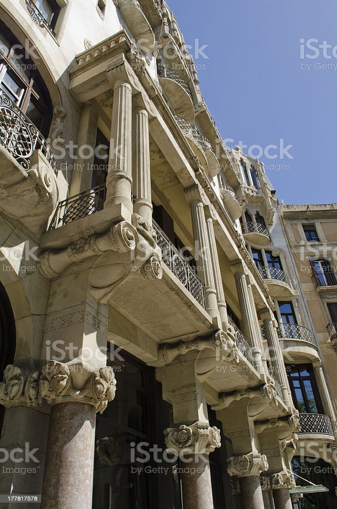 Fuster Building royalty-free stock photo