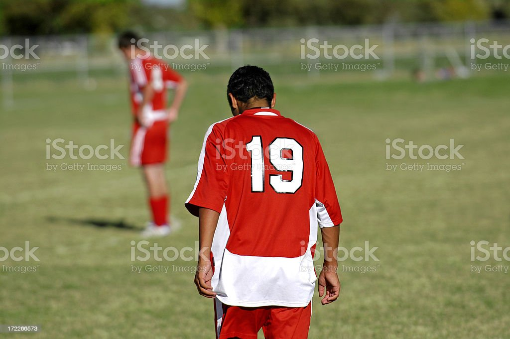 Futbol Series royalty-free stock photo