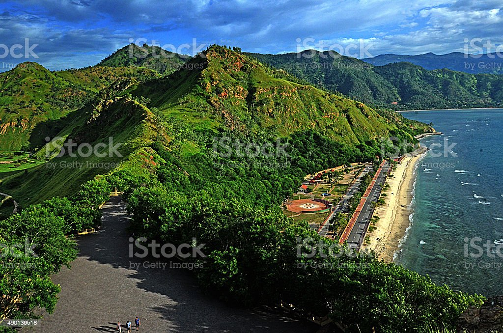 Futucama Timor Leste stock photo