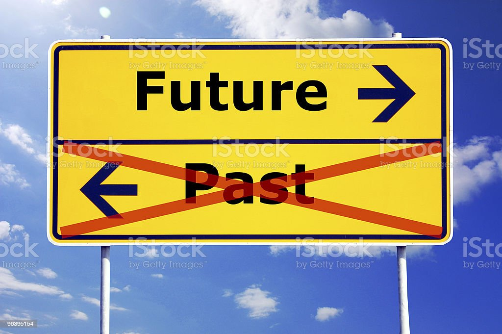 future and past royalty-free stock photo