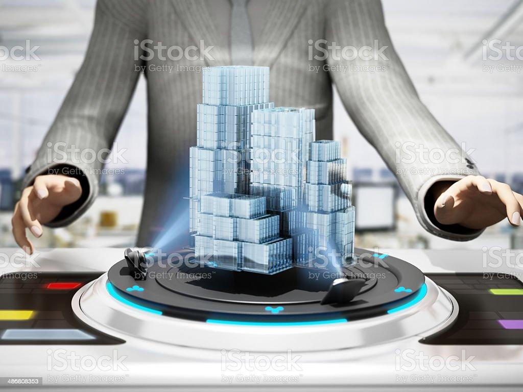 Future Architecture stock photo
