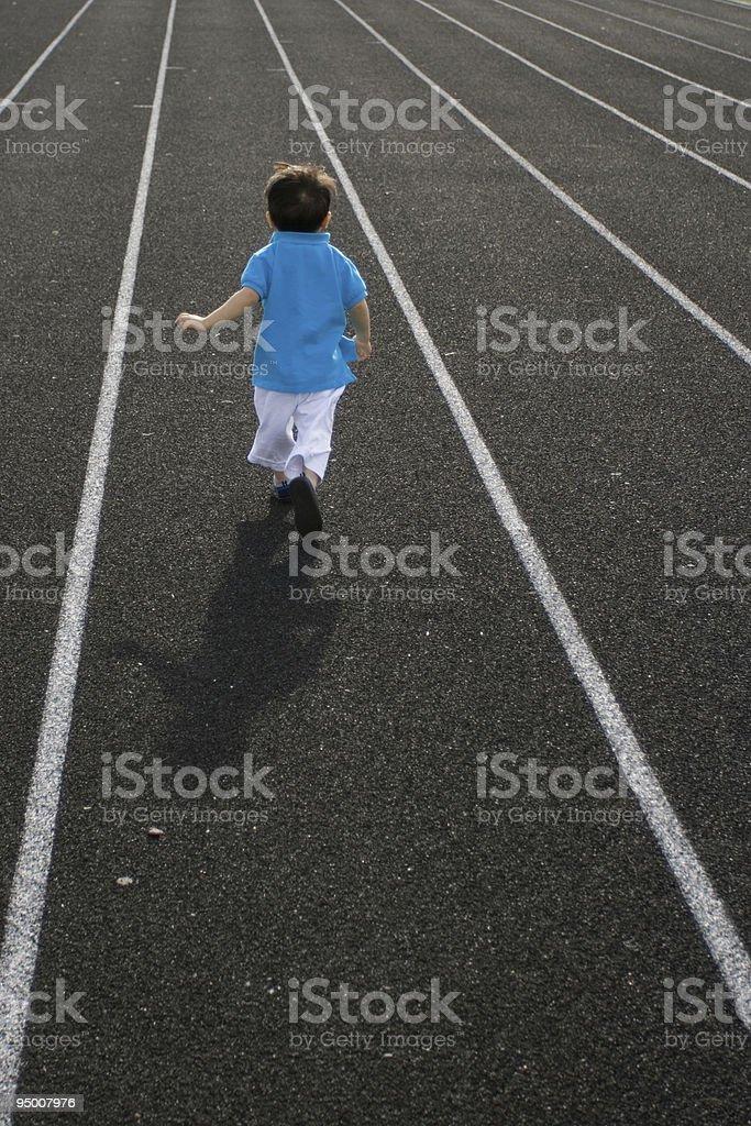 Future Athlete royalty-free stock photo